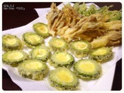 ゴーヤの天ぷら 輪切deダイレクト!の写真