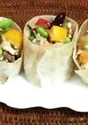 野菜と豆と豆腐の酢味噌和え