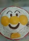お誕生日に簡単アンパンマンケーキ!