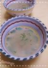 ころころ冬瓜の粉チーズのスープ