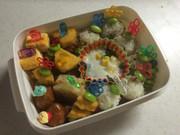 中学生お弁当ピック弁当の写真