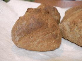 硬くないよ~!ナチュラルライ麦パン