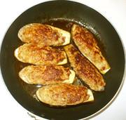 茄子の肉詰め♪簡単ひき肉・なすの夕食の写真