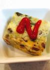 スパニッシュオムレツ(卵乳菜食)