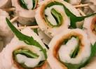 簡単お弁当☺竹輪の大葉巻き作り置きおかず