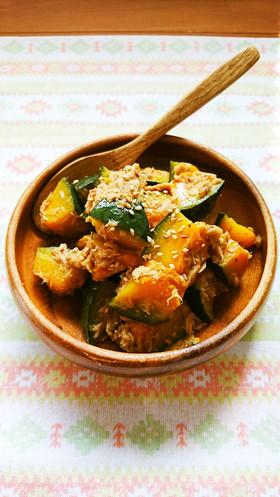 レンジで簡単☆ご飯のお供に無限かぼちゃ。
