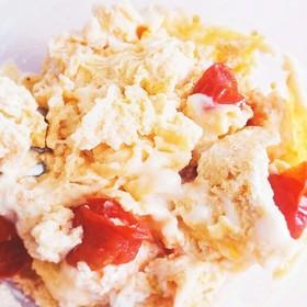 簡単☆トマトの炒り卵