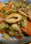 キャベツと竹輪の煮物