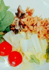 常備菜/蒸し鶏のたれ漬け