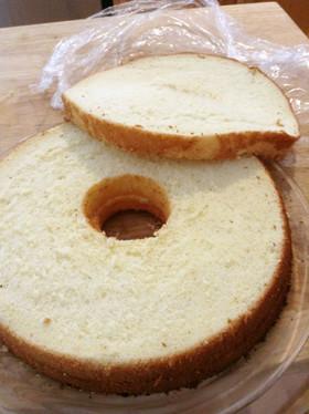 簡単・しっとり驚愕のスポンジケーキ