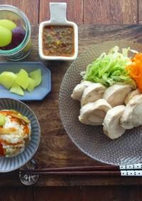 鶏ハムアレンジレシピ☆