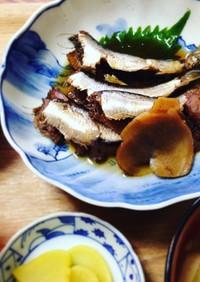 マイヤー電子レンジ圧力鍋 鰯の梅生姜煮