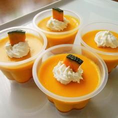 簡単♡濃厚かぼちゃプリン