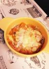 離乳食 サバ缶トマトチーズ
