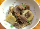 砂肝とエリンギのバジル炒め
