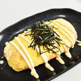 簡単レンジ!居酒屋さんの明太チーズ卵焼き