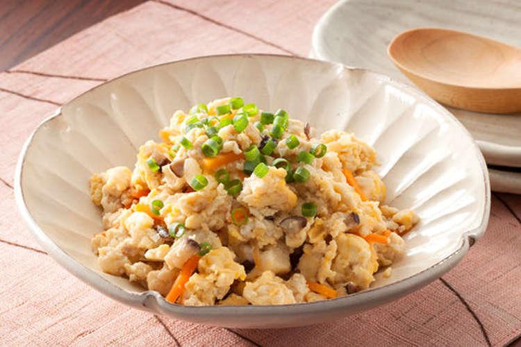 豆腐 炒り