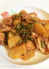 鶏もも肉とジャガイモの照り焼き