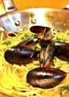 コストコのムール貝で作るスパゲティー!