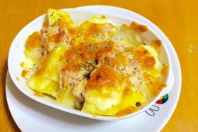 簡単おつまみ♡じゃが芋とツナのチーズ焼き