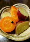 薩摩芋と人参のグラッセ