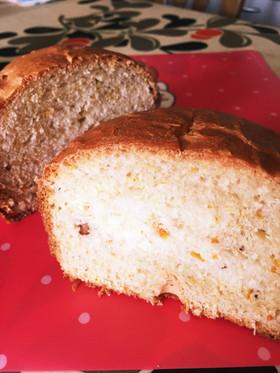 ココナッツオイルで*オレンジピール食パン
