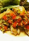 トマト油淋鶏