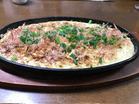 山芋ステーキ(山芋鉄板焼き)