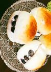 おやつに○!ブルーベリークリームパン