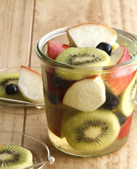 りんごとキウイのデザートピクルス