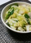 白菜とオクラの簡単ネバネバ浅漬け