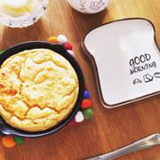 糖質オフ!ニトスキで簡単大豆粉パンケーキの写真