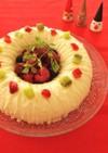 フローズンヨーグルトのアイスリースケーキ