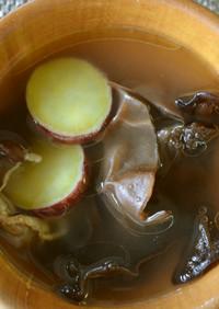 ☆彡さつまいもときくらげの中華スープ☆彡