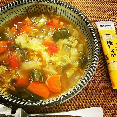 和風だしが効いた基本のデトックススープ