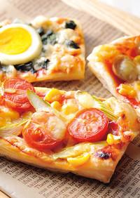 さくさくパイピザ