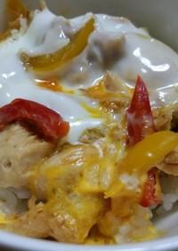 鶏料理リメイク☆レンジde確かに*親子丼