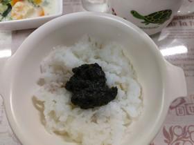 【離乳食·後期】海苔の佃煮