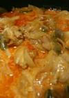 超簡単鶏肉のトマトクリーム煮