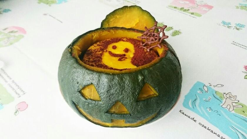 ジャック・オ・ランタン かぼちゃプリン