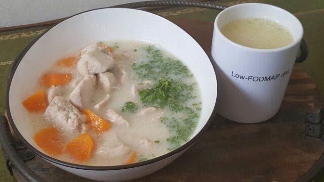 ローカーボLFDのアーモンドミルクスープ