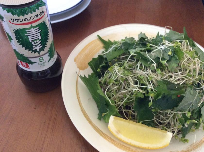 簡単ブロッコリースプラウトサラダ♪