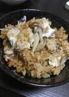 キノコと鯛の炊き込みご飯