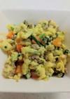 【離乳食·後期】野菜入り炒り卵