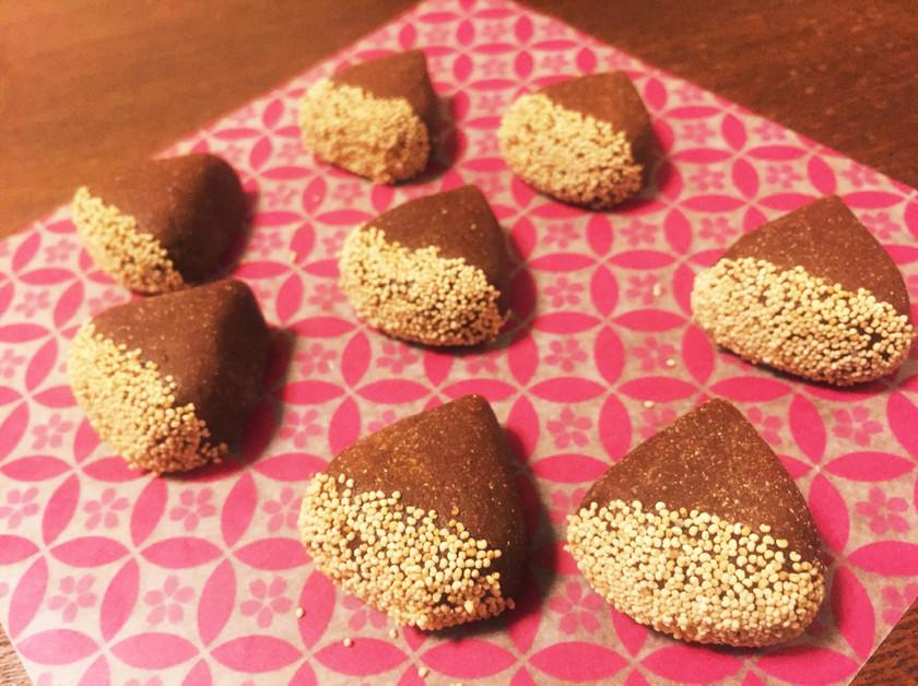 栗のすはま  きな粉で作る簡単和菓子