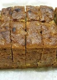 チョコシリアルバウンドケーキ