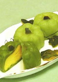 南瓜芝士冰皮月餅(カボチーズ月餅)