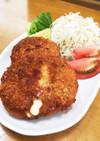 カリふわとろ〜り♡チーズイン鶏ミンチカツ