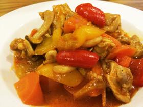 鶏肉と野菜のトマトハニー煮込み