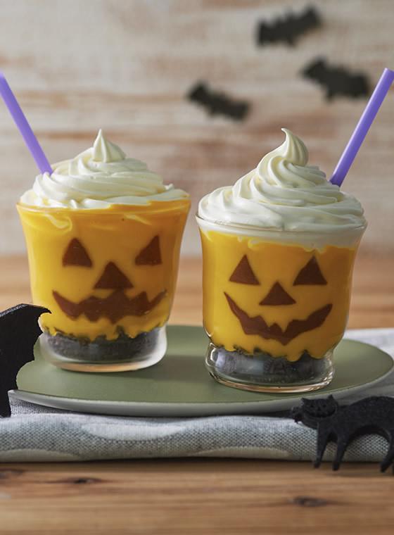 かぼちゃのホイップデザートスムージー